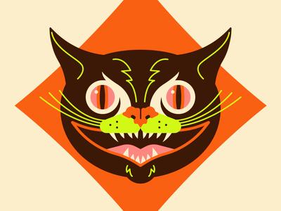 Spooky Halloween Cat