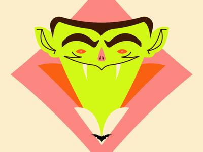 Spooky Halloween Dracula Vampire