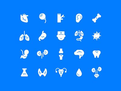 Medical Icons vector illustrator medical icons medical graphic design iconography icons oblik studio oblik