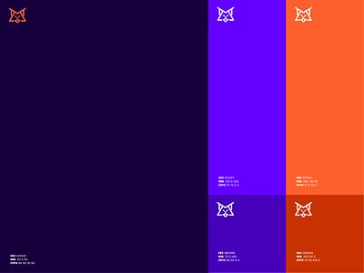MetaLynx Color Palette vector colorscheme palettes colorswatch metalynx meta lynx symbol graphic design logo graphic design oblik studio oblik colors palette colors