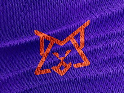 MetaLynx mockup sports symbol logo design metalnx lynx meta oblik studio oblik