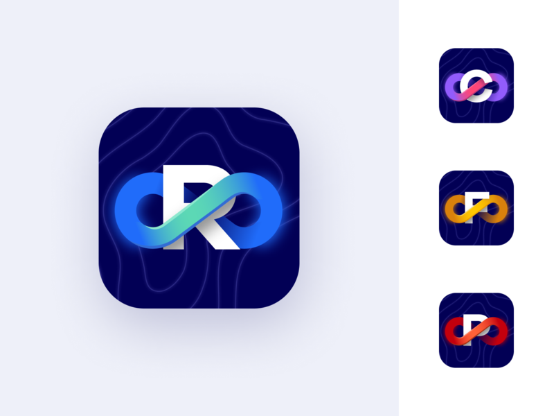 Audiomodern App Store Icons / Concept 02 sound music colorful gradient iphone icon vector figma oblik studio oblik app icons ios app apple ios