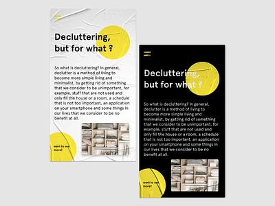 Lifestye Article - UI Concept textured app ios design ui ios digital art minimal design cards ui design