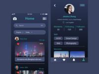 Moment App — concept