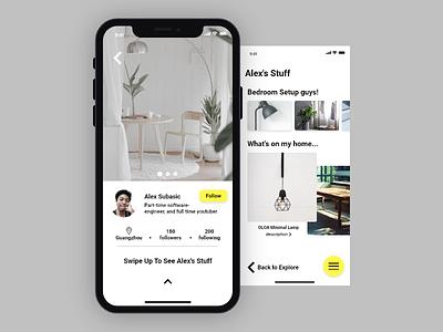 """I still dont know the name of this app concept 😅"" iphone x ui design ios design ios minimal app"