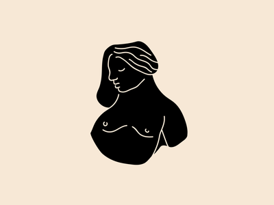 L I T T L E . L A D Y illustration vector lady goddess roman greek figure study figure studies