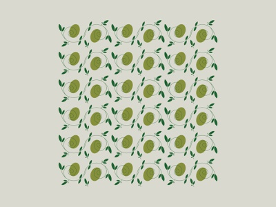 L E . O L I V E illustration vector pattern italy fruit olives olive