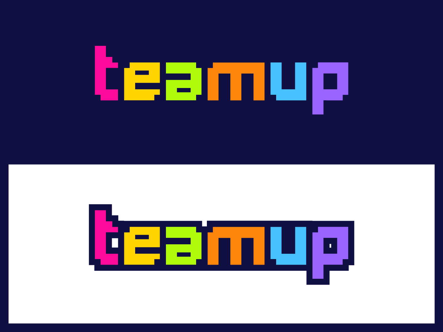Team Up Logo #1 web vector typography up team game app game logo design logo identity graphic design logo brand branding