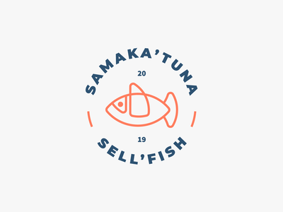 SAMAKA'TUNA, SELL'FISH BRAND