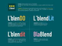 L'blend Activities - Visual identity