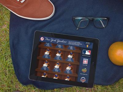 Oyo MLB Stadium Kiosk App - Catalog