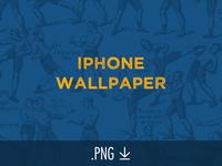 Free Retro-Boxer iPhone Wallpaper