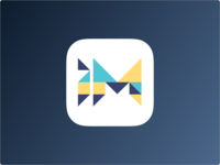 Tangram Inspired App Icon
