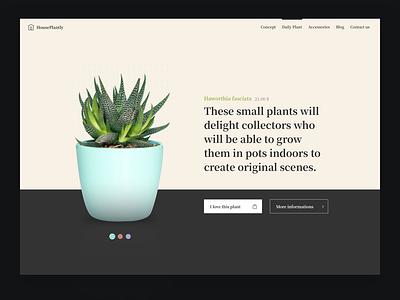 #DailyUI 012 - E-Commerce Shop (Single Item) shopping shop ecommerce font serif plant minimal design web design web ui dailyuichallenge dailyui