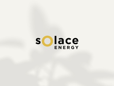 Solace Energy Logo Design