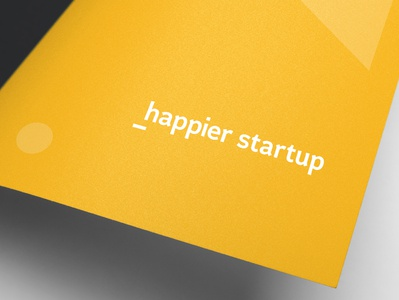 Happier Startup - Option 2