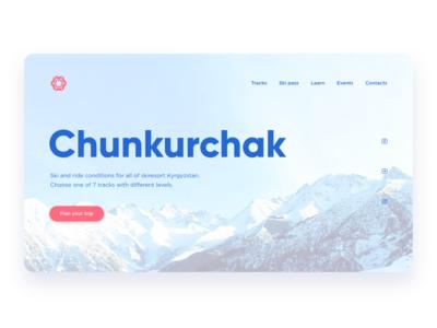 Skiresort Chunkurchak concept