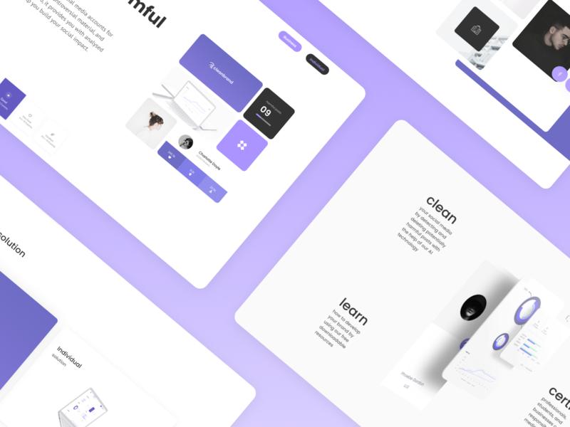 Lifebrand- subpage cerifybrand design colorful marketing site ui ux web design