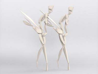 Contemporary Ballet - VR sculpture series