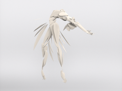Ballerina - VR sculpture series