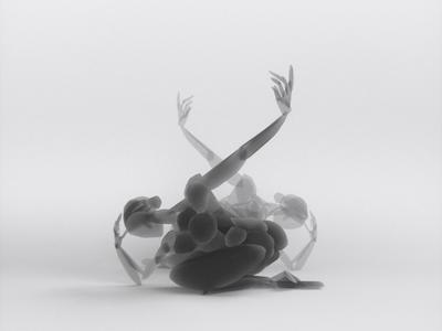 Contemporary dance - VR sculpture series