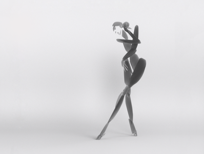 Alone - VR sculpture series