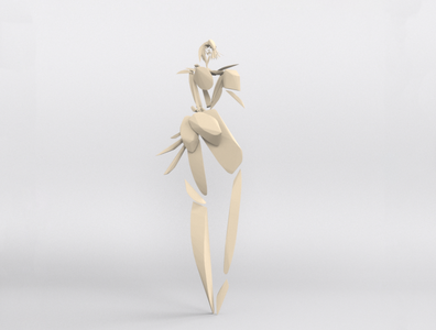 Jenny - VR sculpture series