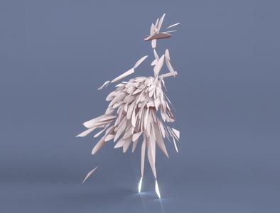 Fashion lady - VR sculpture series