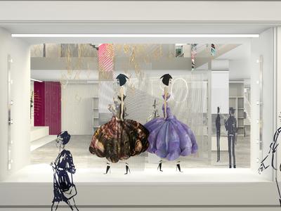 Fashion House Concept - Window Display Design