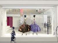 Fashion House Concept - Window Display Design