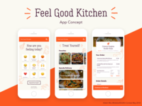 Feel Good Kitchen App Concept