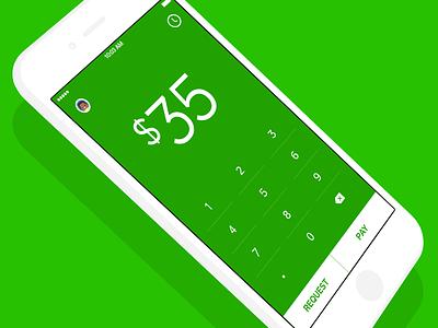 Join the Square Cash Team minimalism green ios mobile app p2p money cash square
