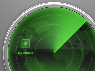 Find my iPhone cinema4d 3d apple icon icloud