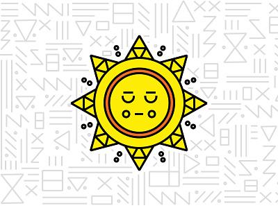 Braintree Latinx Event pattern sun illustration geometric latinx braintree