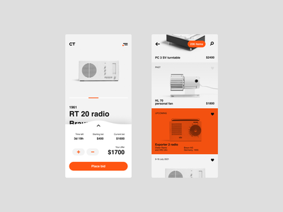 Collect – Technology Marketplace mobile ui ux design gogoapps uiproductdesign ui design clean elegant minimal typo tech technology typography userinterface app