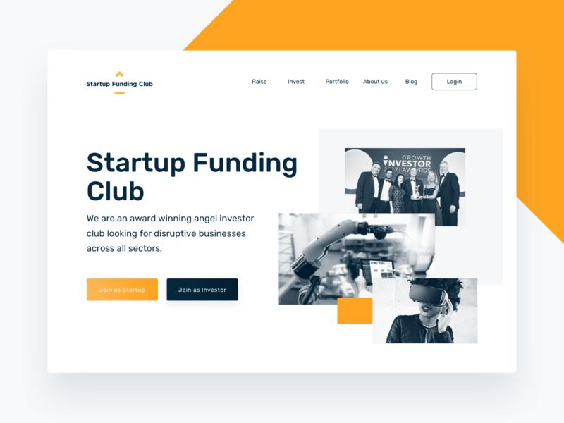 Startup Funding Club Desktop