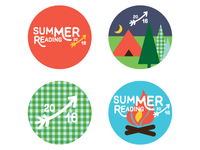 Summer Reading Button Pack