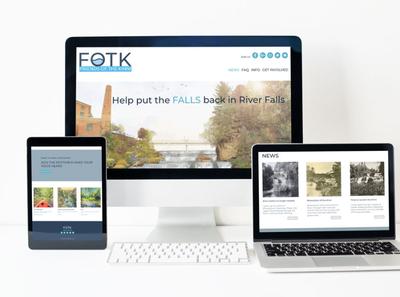 Freinds of the Kinni - Website Redesign Prototype web branding logo design graphic design