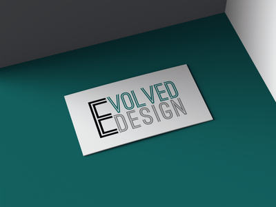 Evolved Design - Logo Design typography logo branding design graphic design