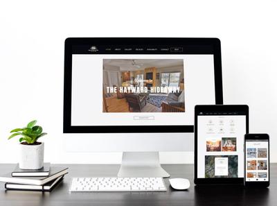 Hayward Hideaway - Website Design web design