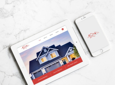 RVC Roofing Pros - Website Redesign website design web design website design web