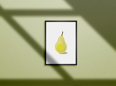 Everyone loves a pear adobe photoshop illustration adobe illustrator graphic design
