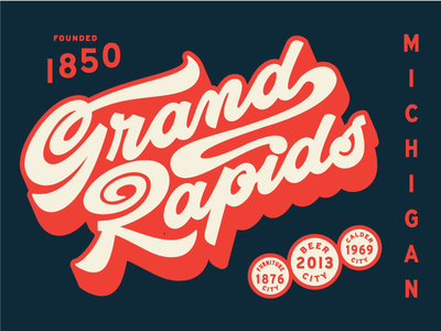 Grand Rapids michigan script