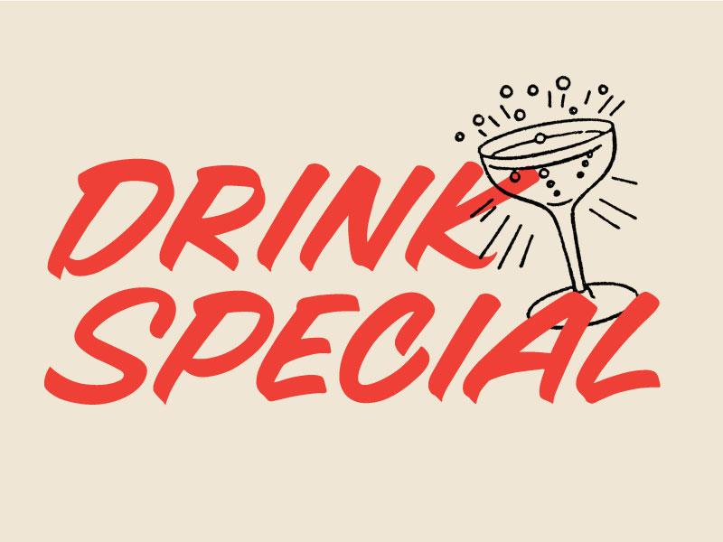 Drink Special By Neil Hubert Dribbble Dribbble