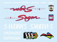 Sagan Decal set