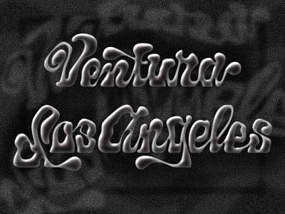 Smoky Script grain typography script lettering smoke script