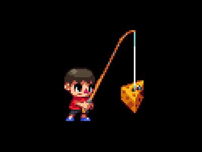 Villager nintendo game pixelart 2d art pixel