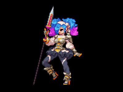 Peri fire emblem nintendo indie game pixelart 2d art pixel