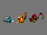 Shovel knight Sprites