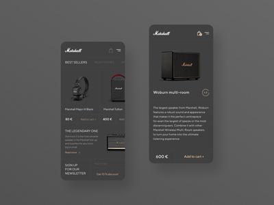 Marshall Store App